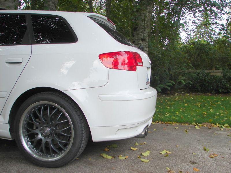 2008 Ibis White Audi A3 2.0T FSI