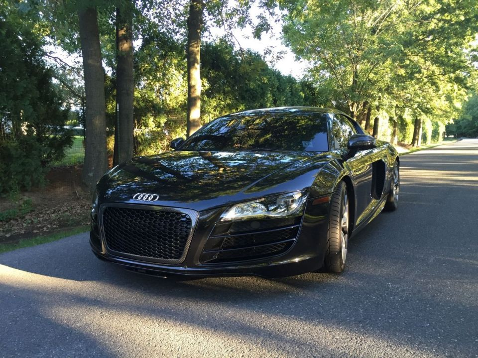 Worksheet. New to the R8 just swapped th grill to honeycomb with CF