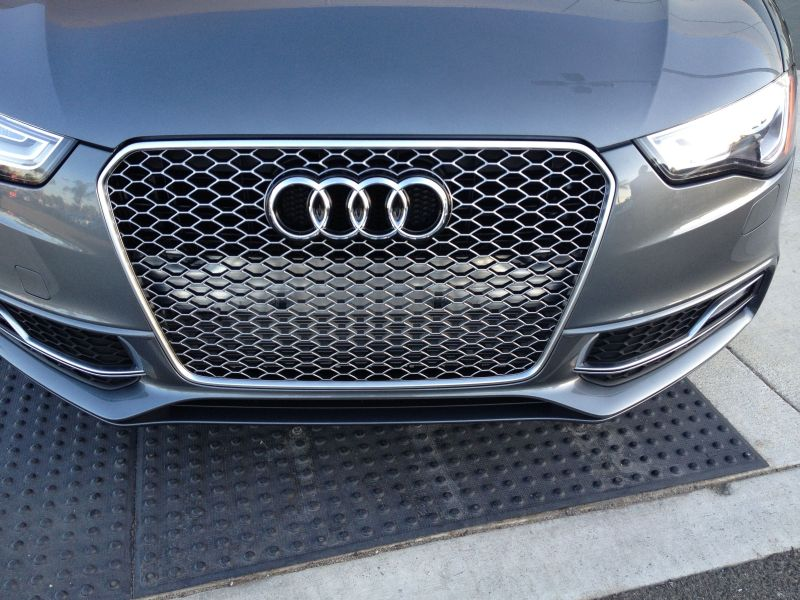 Need Some Honest Opinions On My Painted Rs4 Grille