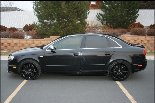 Looking for window tint pics on black s4 for 20 window tint at night