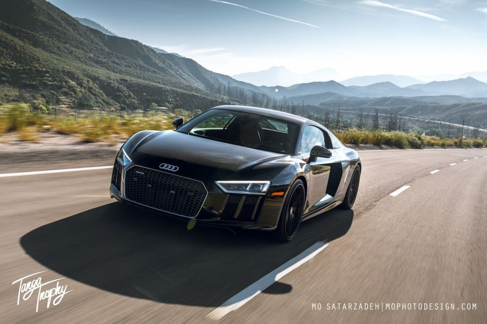 Targa Trophy Ride Check, 2017 Audi R8