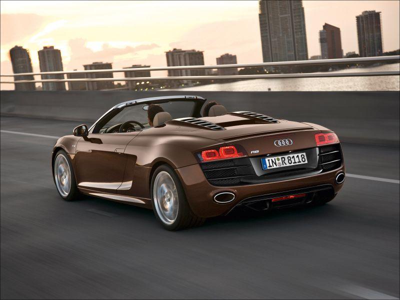 Audi R8 Spyder 5.2 FSI quattro - 1600x1200