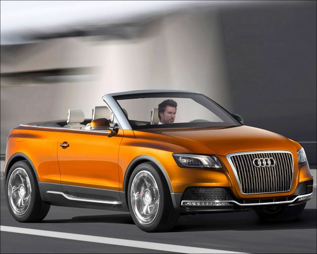 The Audi Cross Cabriolet quattro - 1280x1024