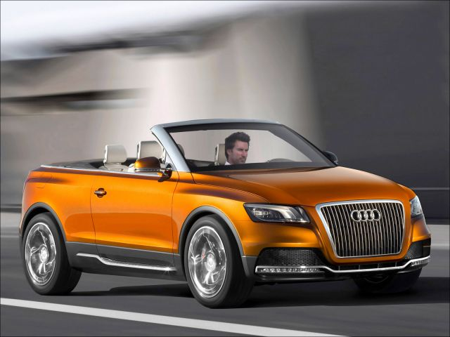 The Audi Cross Cabriolet quattro - 1600x1200