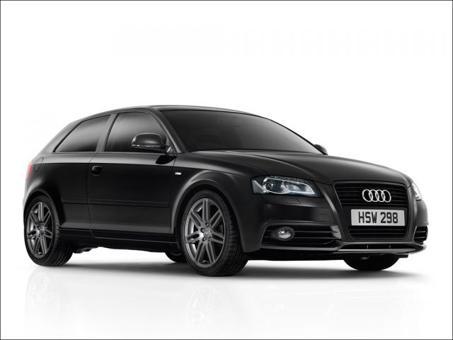 The Audi A3 Black Edition