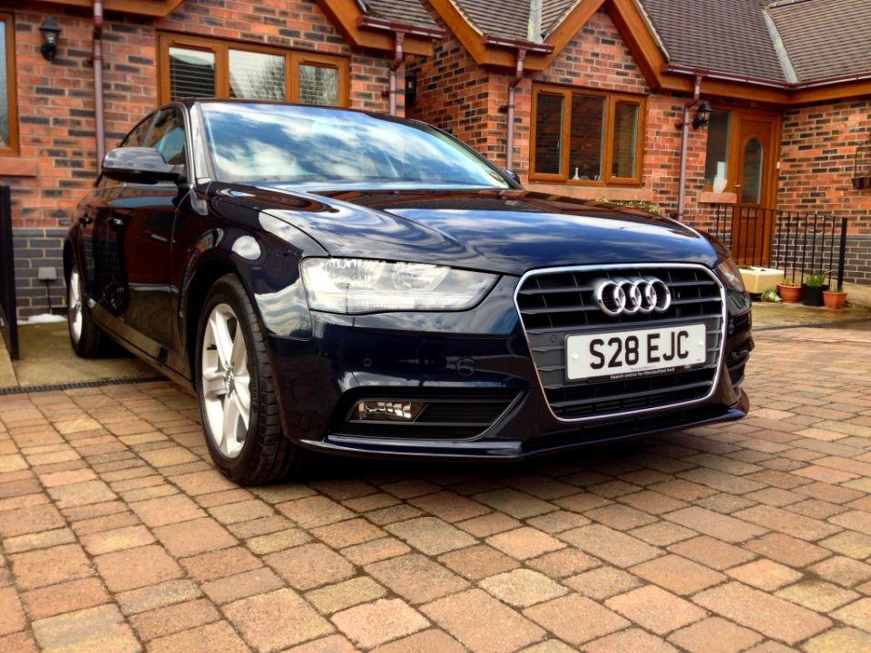 Audi a4 2013 Blue 2013 Moonlight Blue a4 Amp Quot
