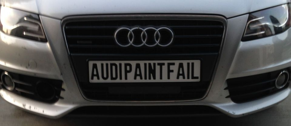 Paint Peeling Off Car Bumper