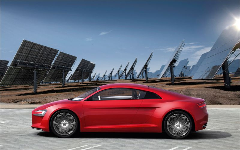 Audi e-Tron Concept Study - 1440x900