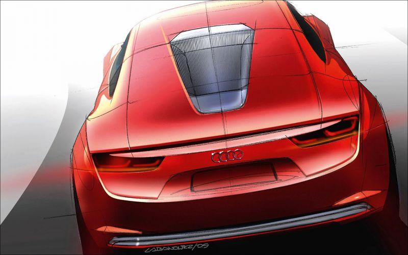 Audi e-Tron Concept Study - 1680x1050