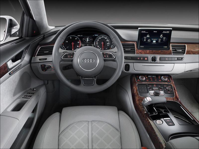 Audi A8 Interior - 1600x1200