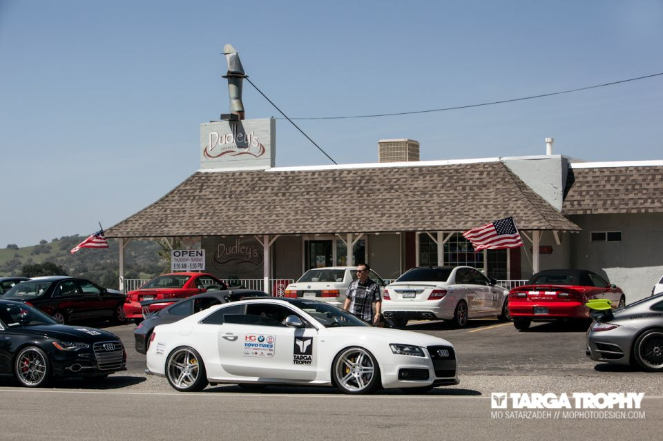 Audizine at Targa Trophy's German Car Festival - March 23, 2013