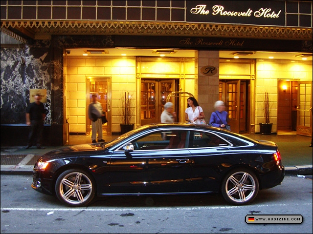 The Audi S5 in Mid-Town Manhattan - Anthony Marino