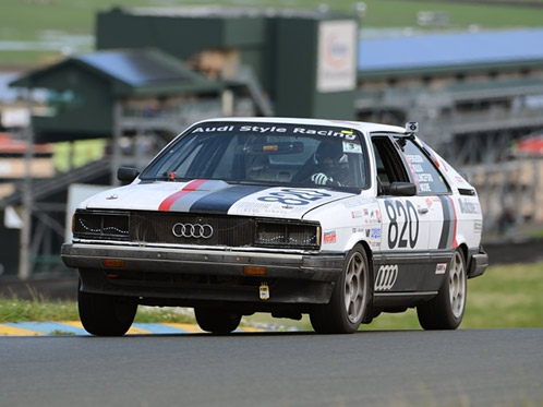 A Running of the 24 Hours of LeMons with Audi Style Racing