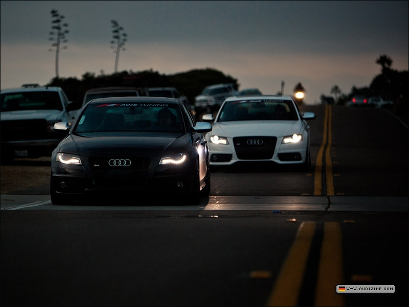 A4rce1's (white) and RE5PECT's (black) 2011 S4s - by Mo Satarzadeh