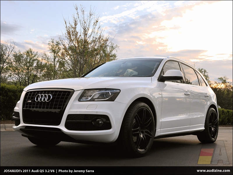 JOS4AUDI is your Featured AZ'er for April 2012! Our first one on a Q5!