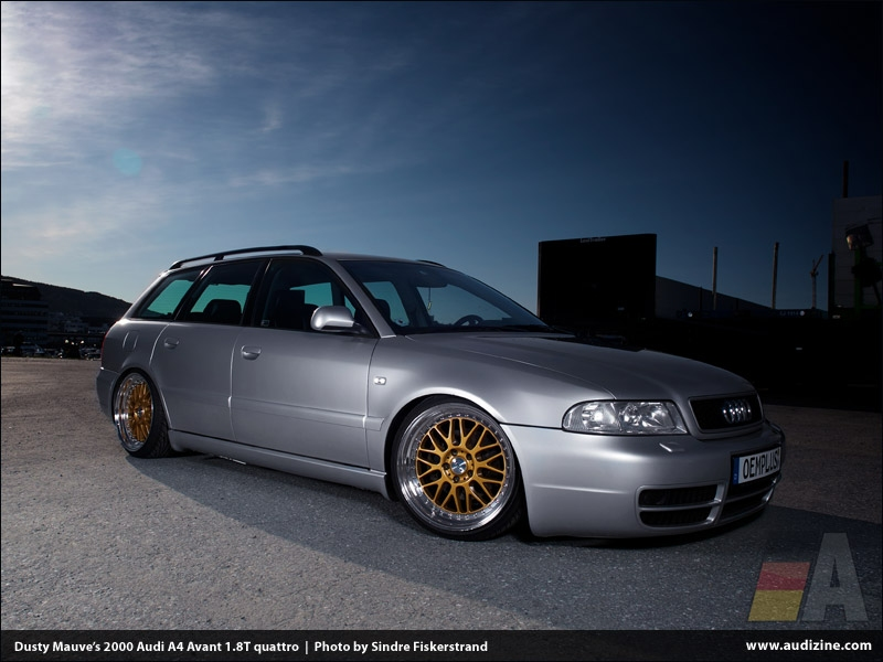 Dusty Mauve&#039;s 2000 A4 Avant 1.8T quattro - photo by Sindre Fiskerstrand
