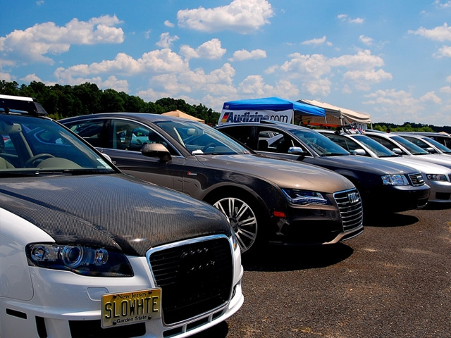 Audis make a great showing in Jersey for Waterfest 17