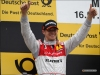 Edoardo Mortara on the podium in Munich - Audi AG