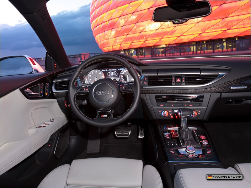 The 2013 Audi S7 - Courtesy of Audi