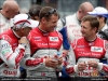 Dindo Capello, Tom Kristensen, and Allan McNish - AUDI SPORT