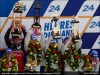 Podium of the 24h of Le Mans - AUDI SPORT
