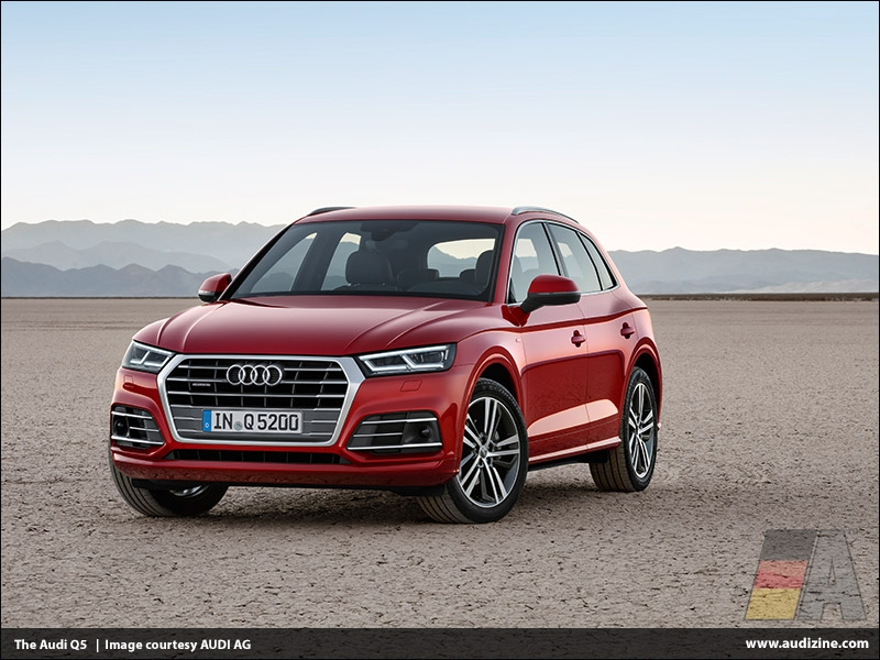 The second generation Audi Q5, Garnet Red - AUDI AG