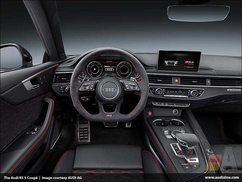 The Audi RS 5 Coupé, Interior - AUDI AG
