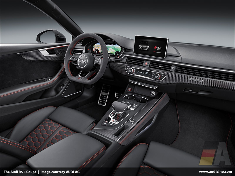 The Audi RS 5 Coupé, Interior - AUDI AG