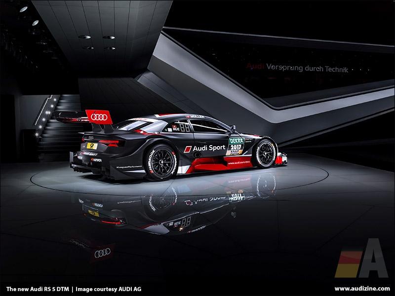 The new Audi RS 5 DTM - AUDI AG