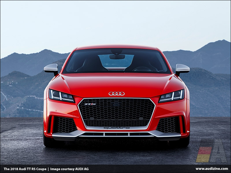 The 2018 Audi TT RS Coupe - Audi of America