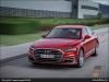 The Audi A8, Volcano Red - AUDI AG