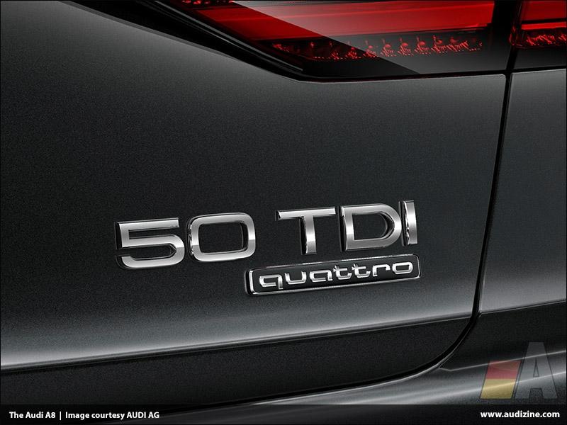 The Audi A8 50 TDI (3.0 TDI) - AUDI AG