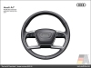 The Audi A7, Multifunction steering wheel - AUDI AG
