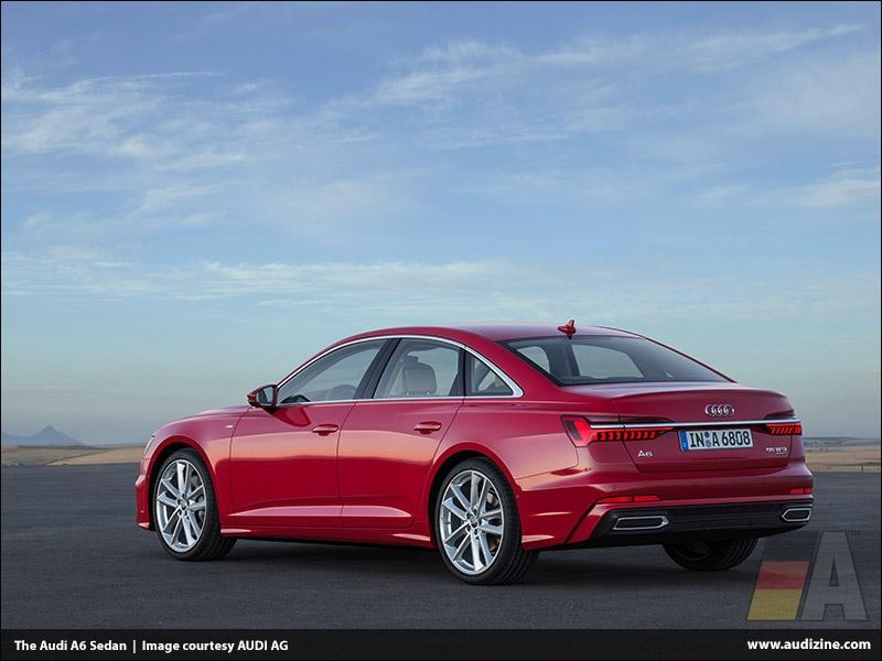 The Audi A6 Sedan, Tango Red - AUDI AG