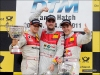 #3 Mortara, #1 Tomczyk, & #2 Ekstrom at Brands Hatch - Audi AG