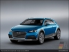 Audi allroad shooting brake, Ice Blue - AUDI AG