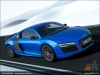 The Audi R8 LMX in Ara Blue crystal effect - AUDI AG