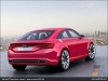 The Audi TT Sportback concept, Mars Red - AUDI AG