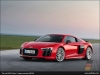 The Audi R8 V10 plus, Dynamit Red - AUDI AG