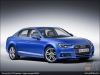 The Audi A4 2.0 TFSI quattro in Ara Blue - AUDI AG