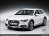 The Audi A4 allroad quattro, Glacier White - AUDI AG