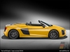 The Audi R8 Spyder, Vegas Yellow - AUDI AG