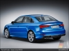 The Audi A3 sedan, Ara Blue - AUDI AG