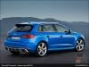 The Audi RS 3 Sportback, Ara Blue - AUDI AG