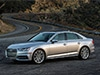 2017 Audi A4 with six-speed manual transmission and standard all-wheel drive