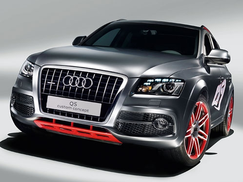 408HP Audi Q5 Custom Concept Headlines at Austria's Worthersee Tour