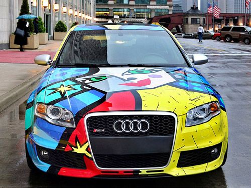 Art Attack for American RS 4