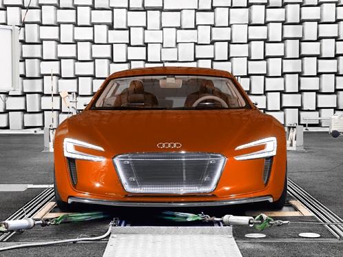 Audi Sounds out the Engine Note of the Future