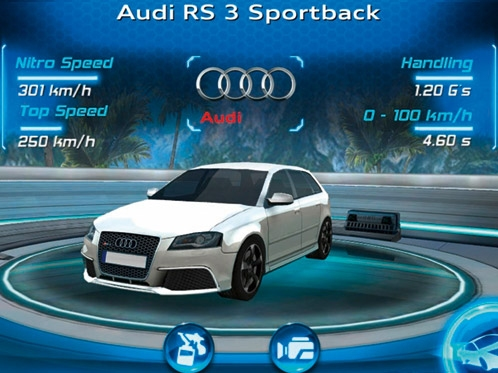 iPhone app: Test drive the new Audi RS 3