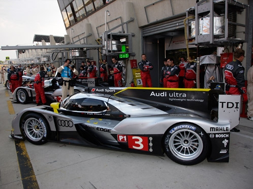 Audi is ready for the race of the year